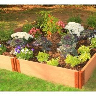 Frame It All Raised Garden 1-inch (8' x 8') 2 Level