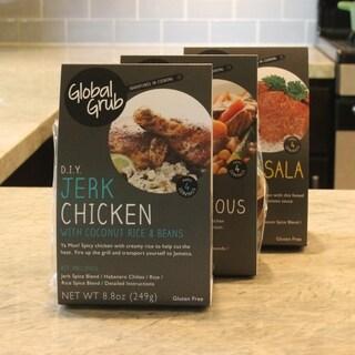 Global Grub DIY Cooking Kit Bundle (Set of 3)