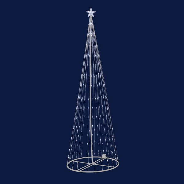 LED 344 Warm White Light Show Tree Indoor/Outdoor 9' x 36""