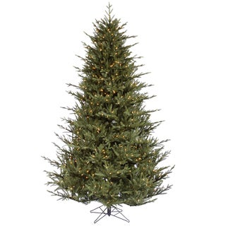 "9.5' x 76"" Itasca Frasier Tree with 1300 Clear Dura-Lit Lights"