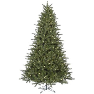 "9' x 64"" Kennedy Fir Tree with 1000 Warm White Italian LED Lights"