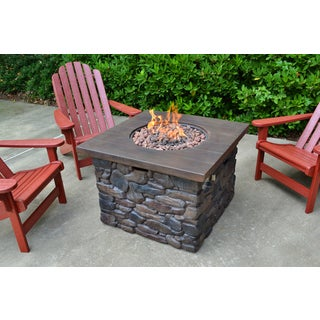 Tortuga Outdoor Yosemite II Fire Pit with Bonus Fire Column