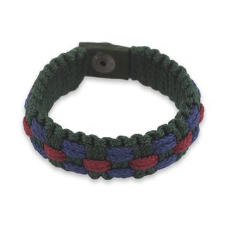 Handcrafted Men's Recycled 'Sincerity' Bracelet (Ghana)