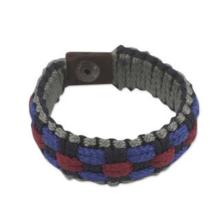 Handcrafted Men's Recycled 'Excellence' Bracelet (Ghana)