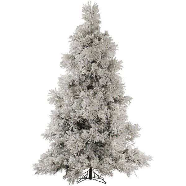 Vickerman Alaskan Flocked Christmas Tree