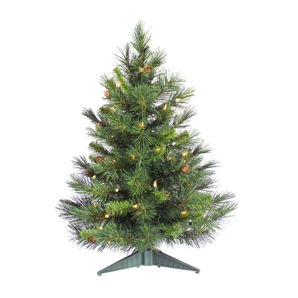 """36"""" x 22"""" Cheyenne Pine Tree with 115 Tips and Cones"""