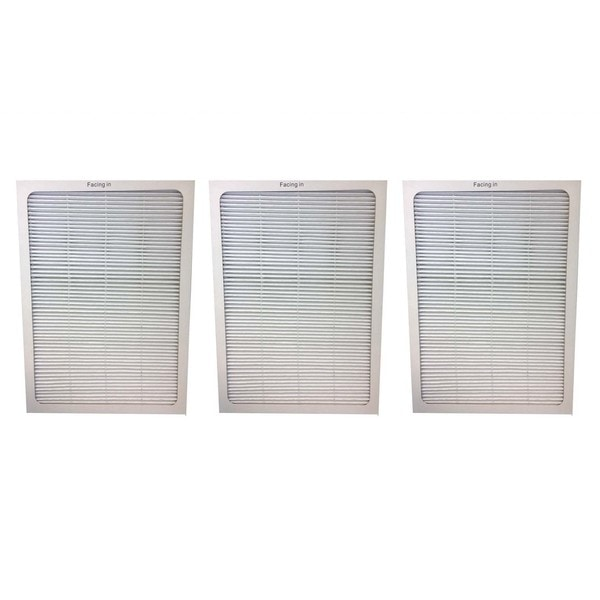 3pk Replacement Air Purifier Filters, Fits Blueair 500 & 600 Series Air Purifiers 16322772