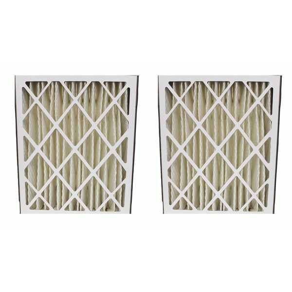 Ultravation-compatible 91-006 Pleated Furnace Air Filter 20x25x5 MERV 8 (Set of 2)