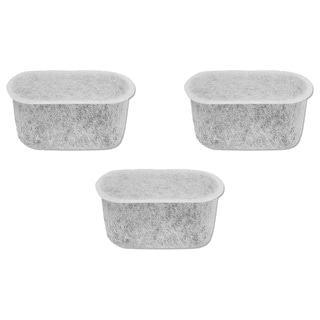 Black and Decker-compatible Charcoal Water Filters Fit 12-cup Coffee Machines (Pack of 3)