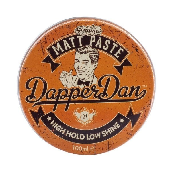 Dapper Dan Matt Paste Pomade High Hold Low Shine 100ml