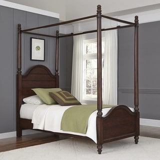 Country Comfort Canopy Bed