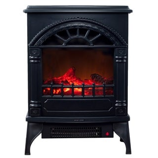 Northwest Freestanding Electric Log Fireplace