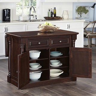 Monarch Kitchen Island and Two Stools