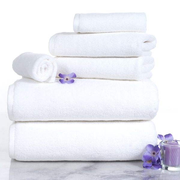Windsor Home 100-percent Egyptian Cotton Zero Twist 6 Piece Towel Set