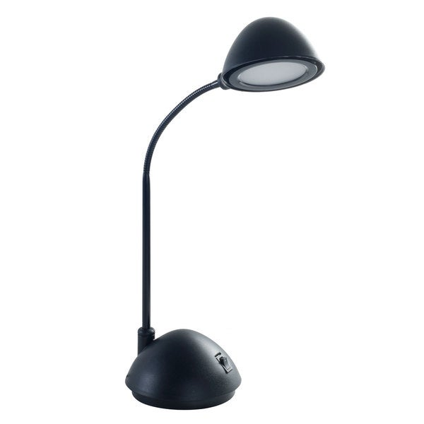 Bright Energy Saving LED Desk Lamp, 21-inch, Black