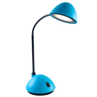 Bright Energy Saving LED Desk Lamp, 21-inch, Blue