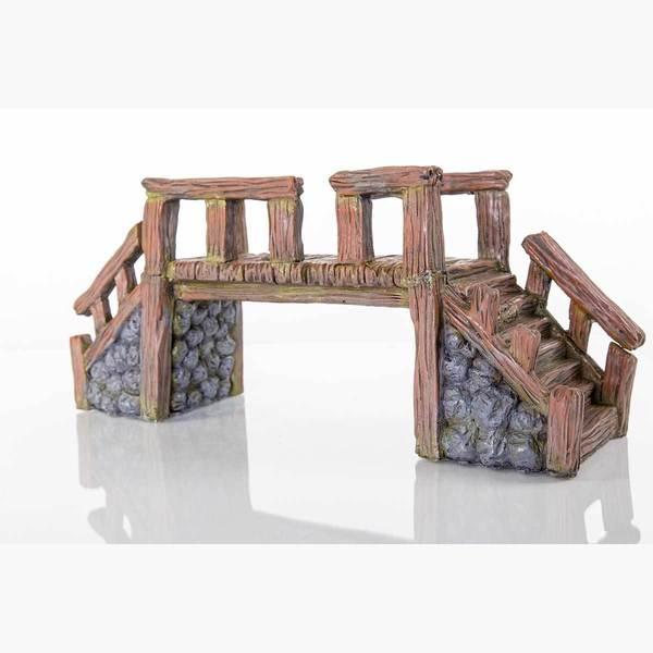 BioBubble Decorative Wood Bridge