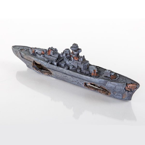 BioBubble Decorative Sunken Battleship