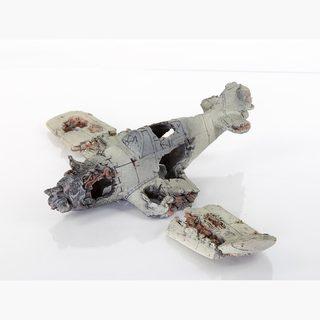 BioBubble Decorative Crashed Zero Plane