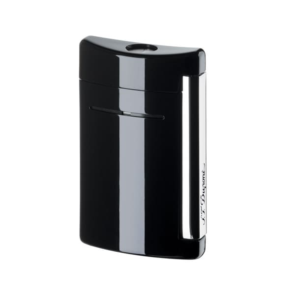 ST Dupont MiniJet Black As Night Torch Flame Lighter