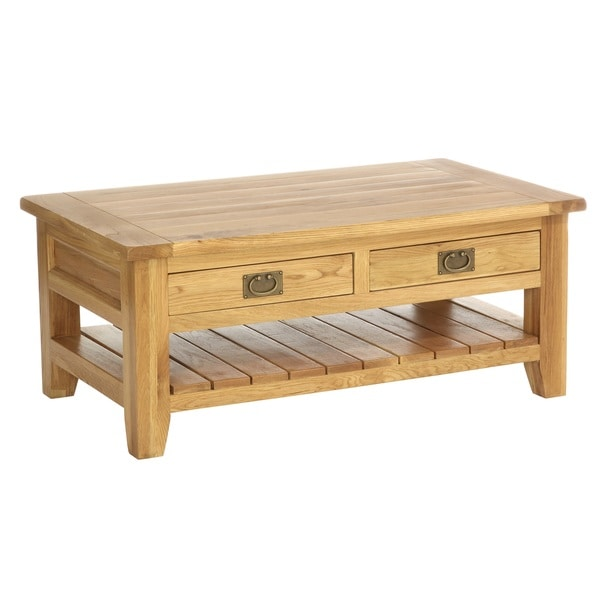 Vancouver Coffee/ Cocktail Table with Two Drawers