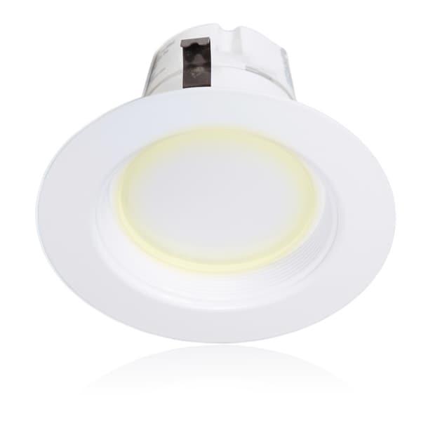 Maxxima 4-inch Dimmable LED Retrofit Downlight, 2700K Warm White, 850 Lumens