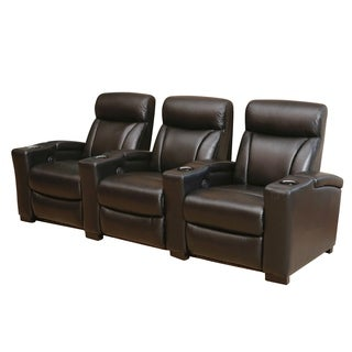 Abbyson Living Westin Black Power Media Recliners