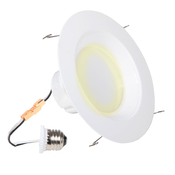 Maxxima 6-inch Dimmable LED Retrofit Downlight, 2700K Warm White, 1200 Lumens