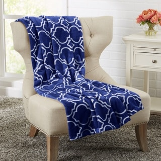 Alyssa Collection Ultra Plush Printed Luxury Throw Blanket
