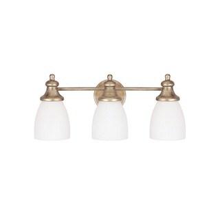 Capital Lighting Ansley Collection 3-light Sable Bath/Vanity Light