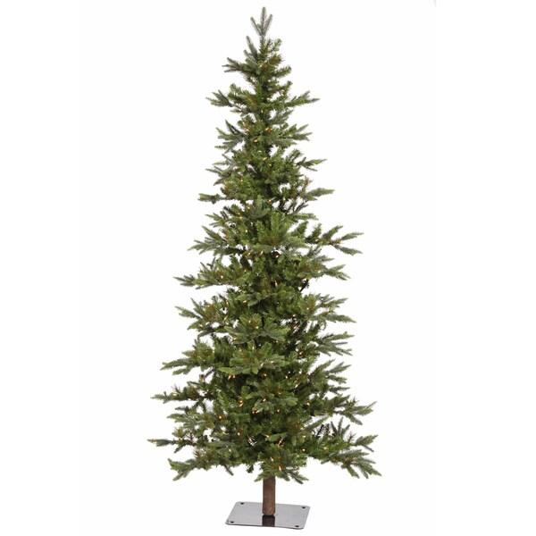 """8' x 46"""" Shawnee Fir Tree with 450 Clear Dura-Lit Lights"""