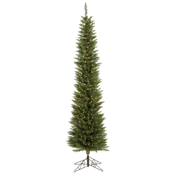 "5.5' x 18"" Durham Pole Pine Tree with 150 Clear Dura-Lit Lights"