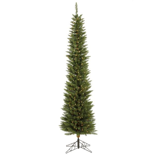 "6.5' x 20"" Durham Pole Pine Tree with 200 Clear Dura-Lit Lights"