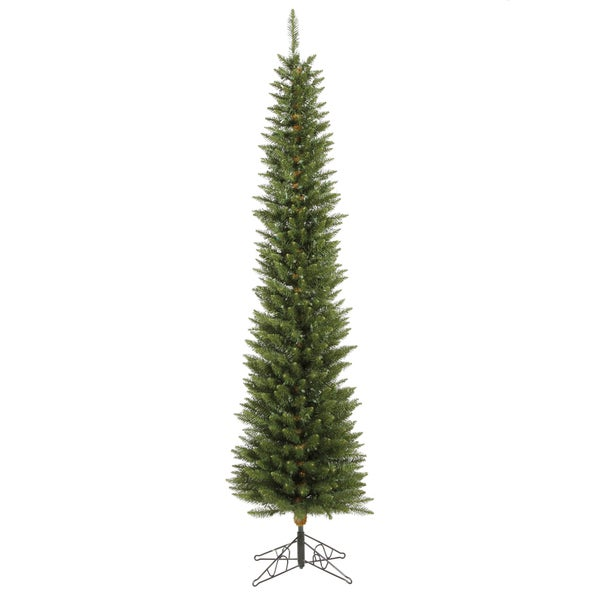 "6.5' x 20"" Durham Pole Pine Tree with 200 frosted Multi-Color LED Lights"