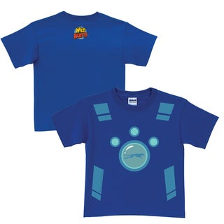 Wild Kratts Creature Power Suit Royal Blue T-Shirt