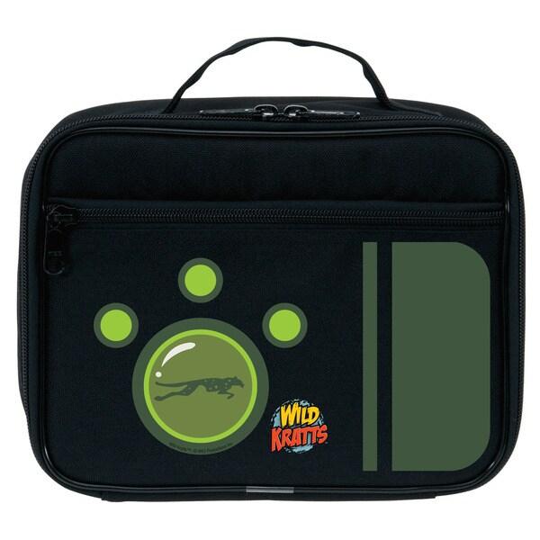 Wild Kratts Green Creature Power Lunch Bag