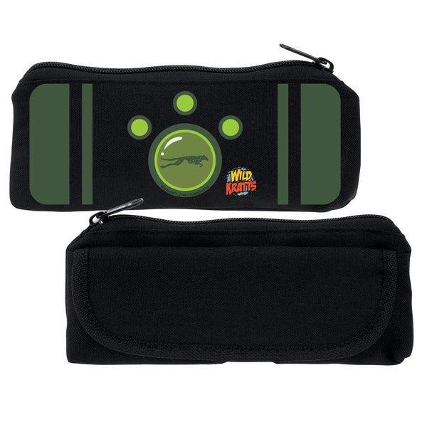 Wild Kratts Green Creature Power Pencil Case