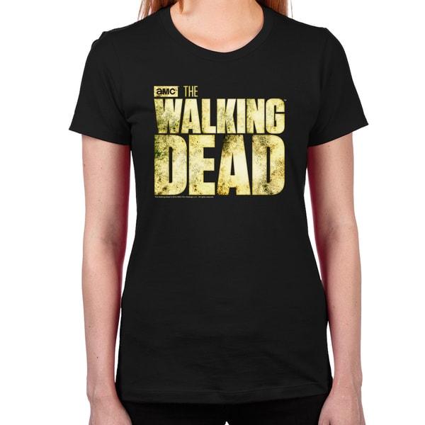 The Walking Dead Logo T-Shirt - Women
