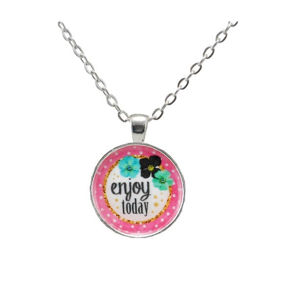 Be The Envy 'Enjoy Today' Necklace