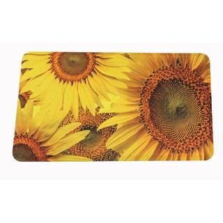 "Somette Sunflower Memory Foam Anti-fatigue Comfort Mat (18"" x 30"")"