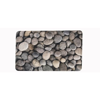 "Somette River Rocks Memory Foam Anti-fatigue Comfort Mat (18"" x 30"")"