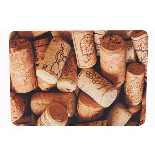 "Somette Wine Cork Memory Foam Anti-fatigue Comfort Mat (18"" x 30"")"