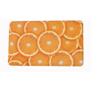 "Somette Oranges Memory Foam Anti-fatigue Comfort Mat (18"" x 30"")"