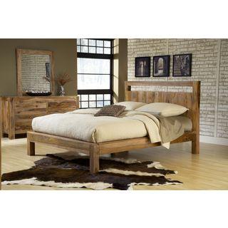 Solid Sheesham Platform Bed