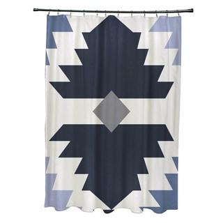 "Mesa Geometric Print Shower Curtain (71"" x 74"")"