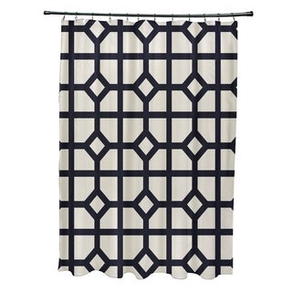 "Don't Fret Geometric Print Shower Curtain (71"" x 74"")"
