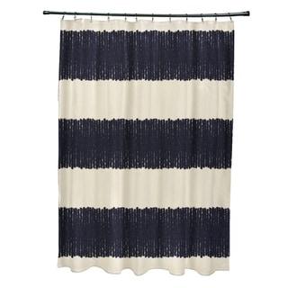 "Twisted Stripe Stripe Print Shower Curtain (71"" x 74"")"