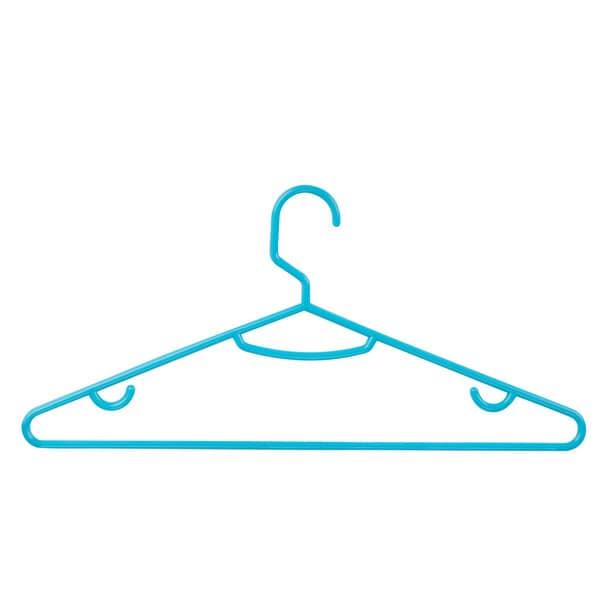 Honey Can Do Blue Plastic Tubular Hanger (Pack of 60)