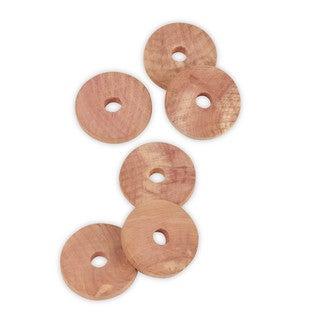 Cedar Rings (6 pack)