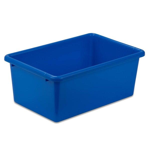 Small Blue Plastic Bin